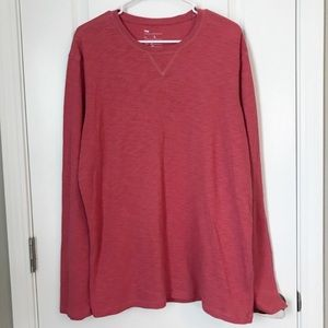 Gap Red Long Sleeve Shirt